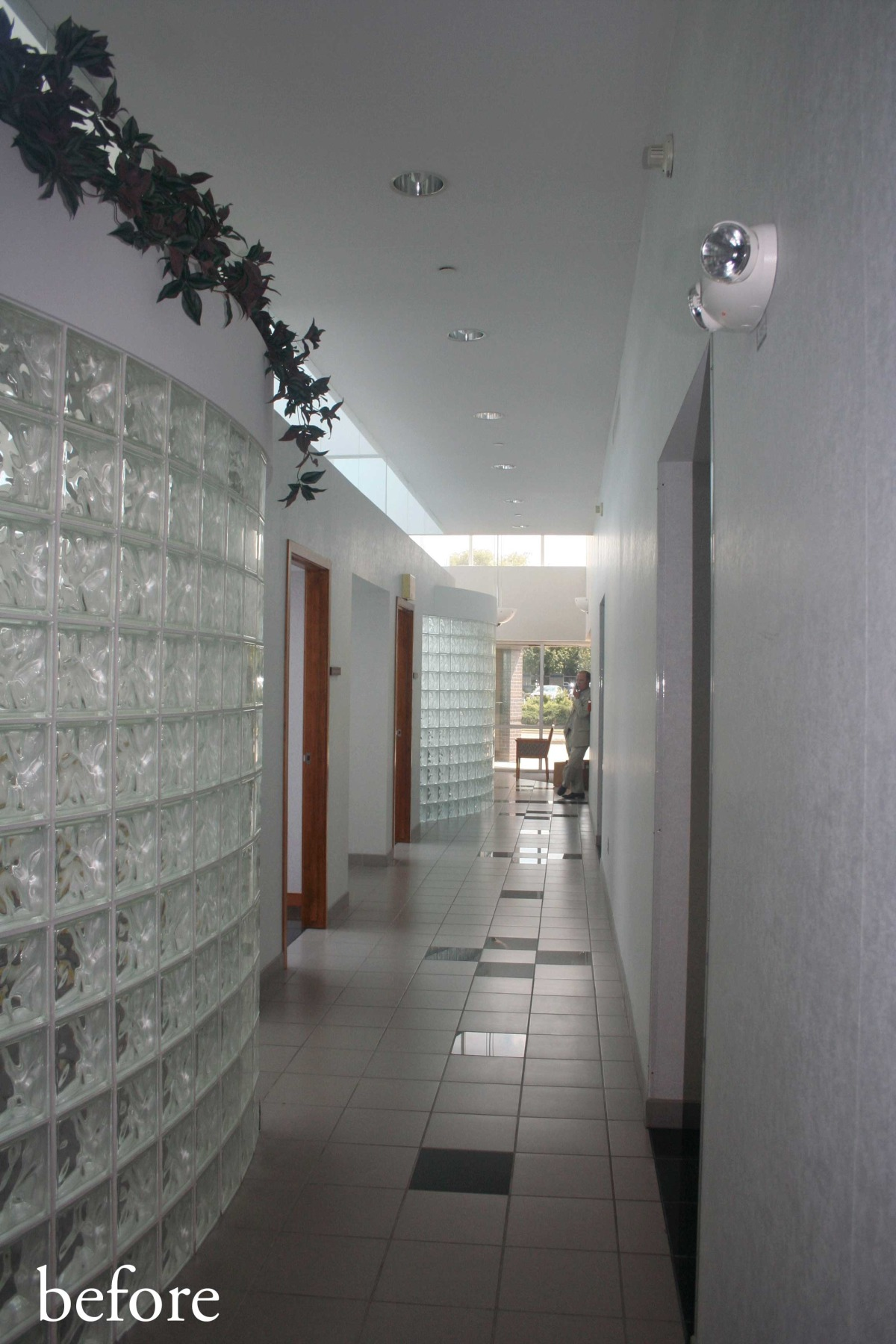 BEFORE - Corridor outside Conference Room