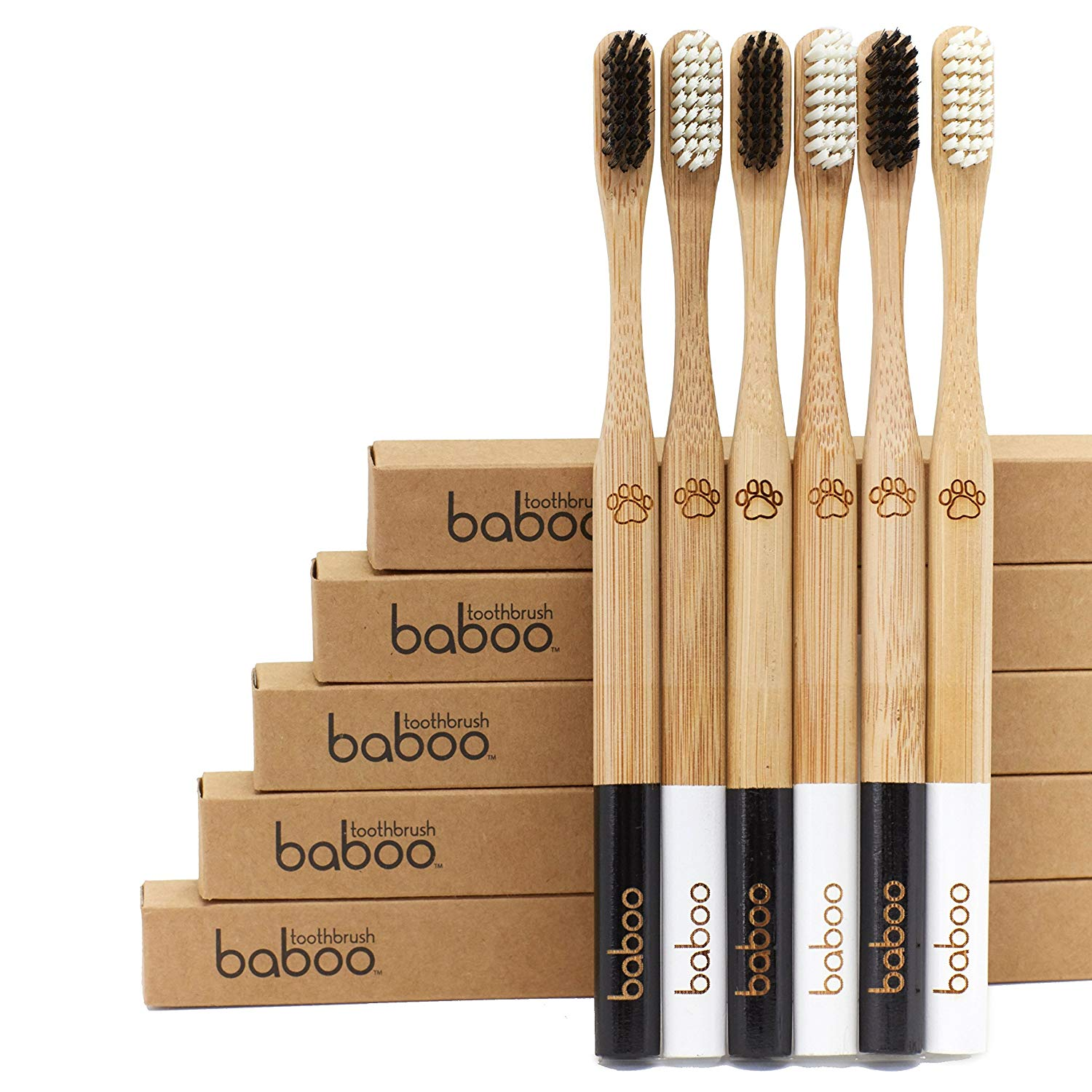 BAMBOO TOOTH BRUSH - IMAGE BY: BABOO