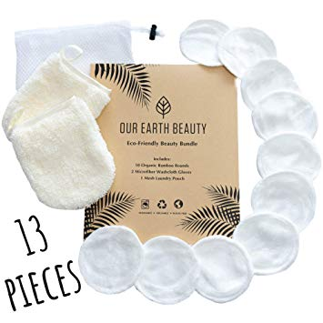REUSABLE FACE CLEANSERS