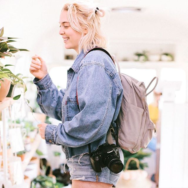 Me doing what I do best...admiring all the plant babies I can't afford🌱
