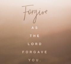 I SAID I FORGIVE YOU (2018) - Written by: Larisha Y. Warner