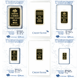 GOLD BARS ASSORTED WEIGHTS