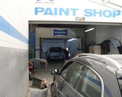 Full Down Draft Spray Booth-Seetal