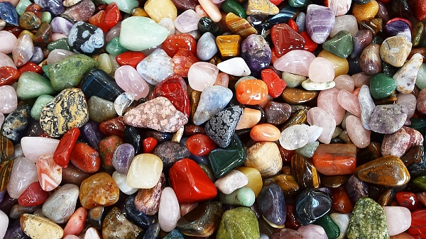 - Your Crystals choose you.