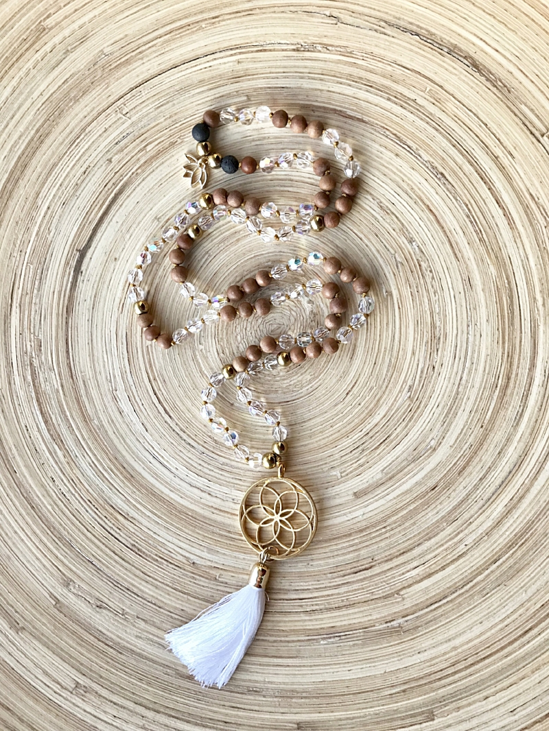 The Finished Mala Necklace