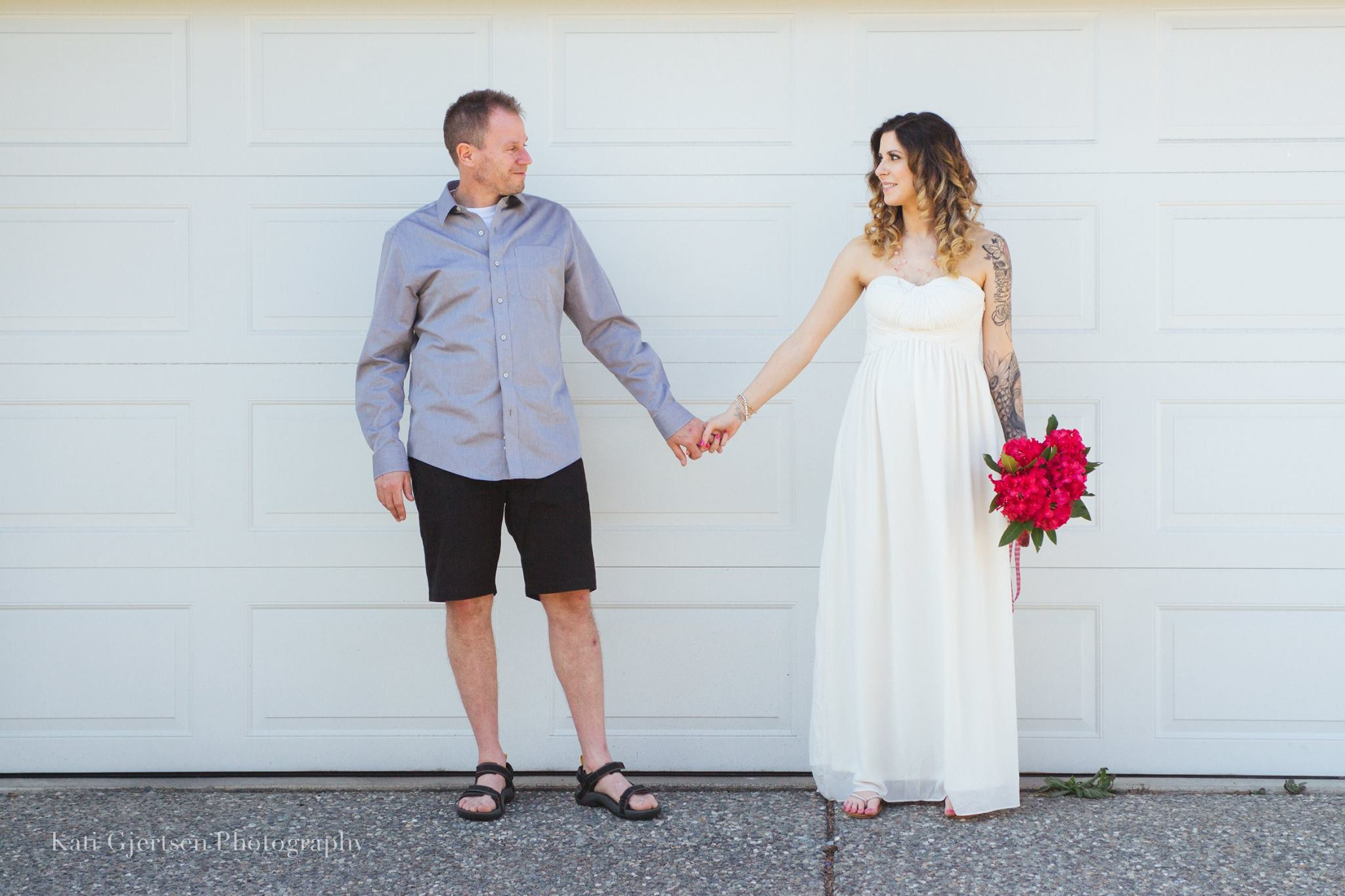 Hayley and Mark Loewen Married after a long story of loss in Hayley's I Am Blessed Mala Beads Blog