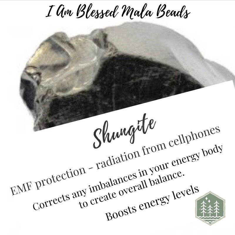 Shungite the stone that protects against EMF