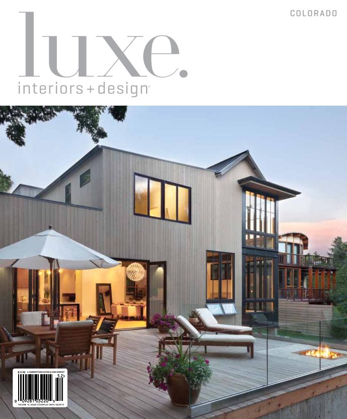 Luxe Interiors+Design Spring 2015