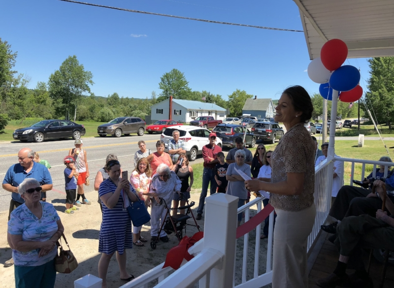 On Saturday, July 7 the Canton Historical Society held its much anticipated Grand Opening. Festivities included special guest speaker Senator Lisa Keim and a Ribbon Cutting ceremony.