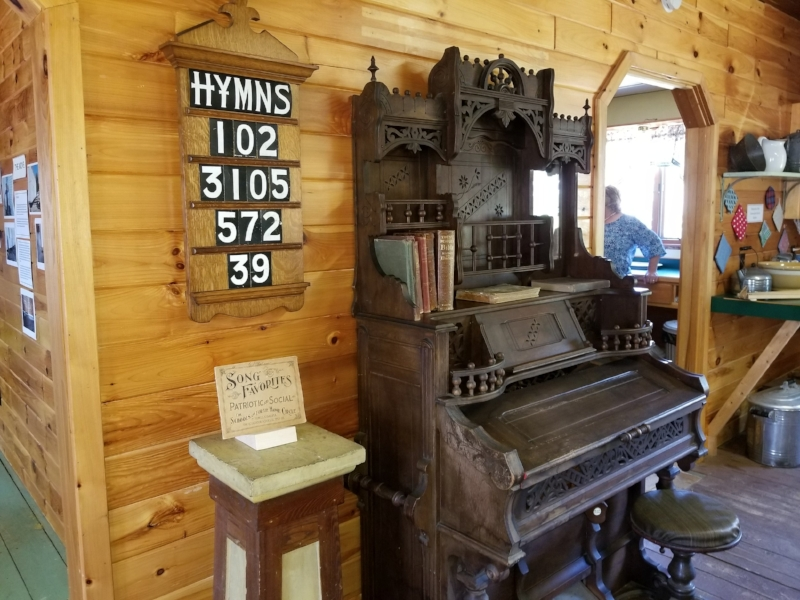 Several museum exhibits highlight memories of the Universalist Church.