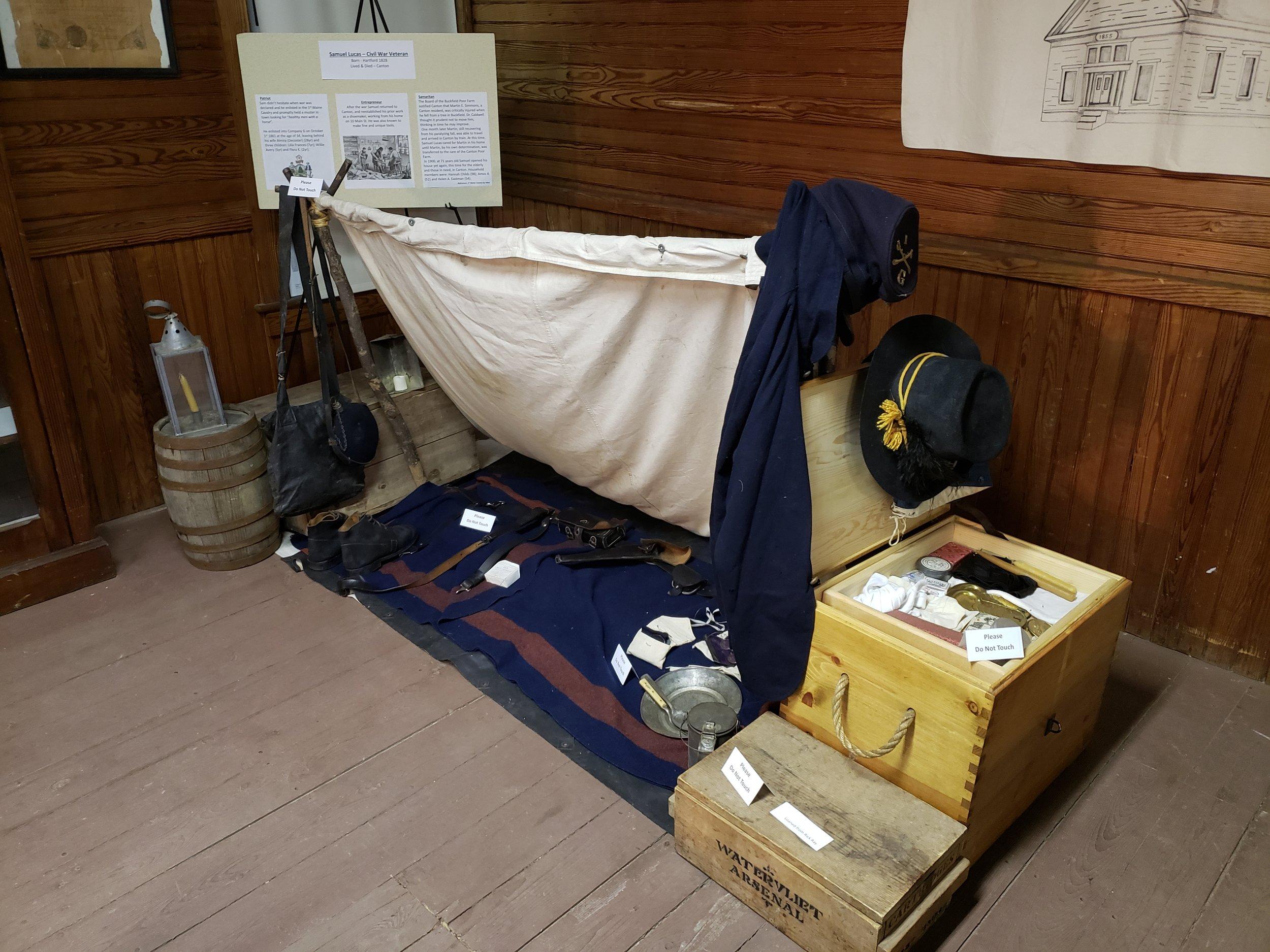 Civil War Encampment Exhibit