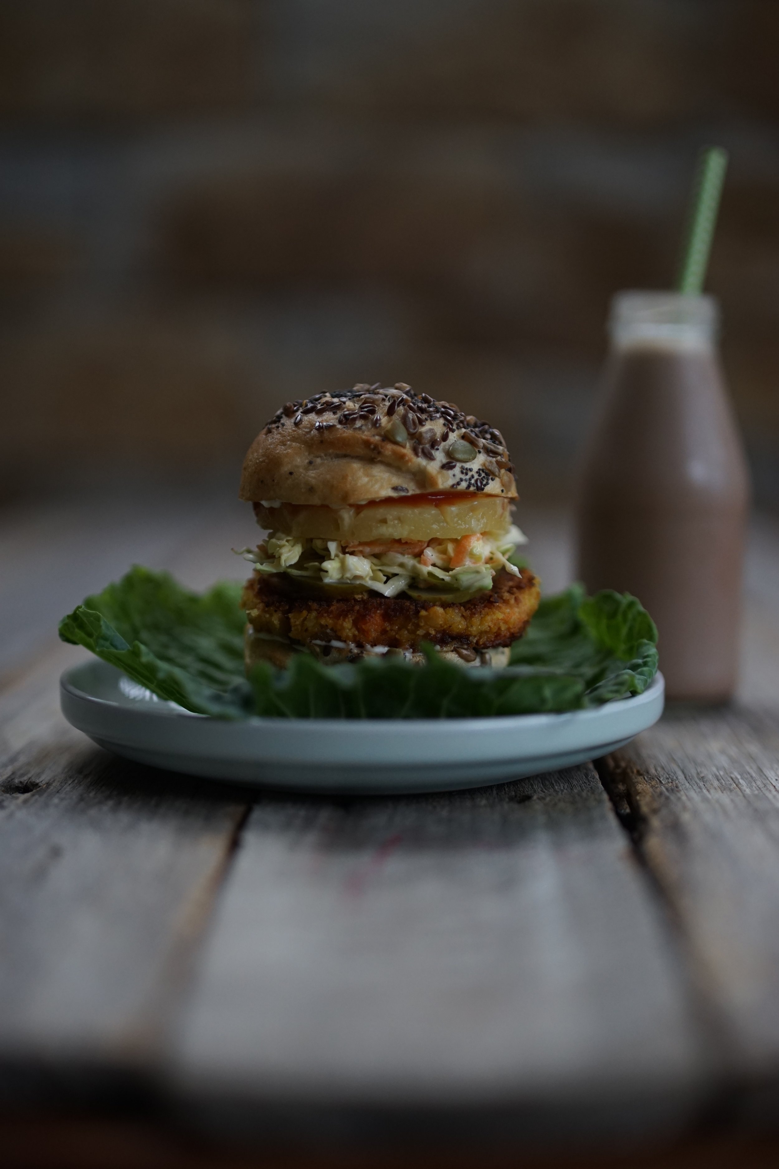Tropical Vege Burger