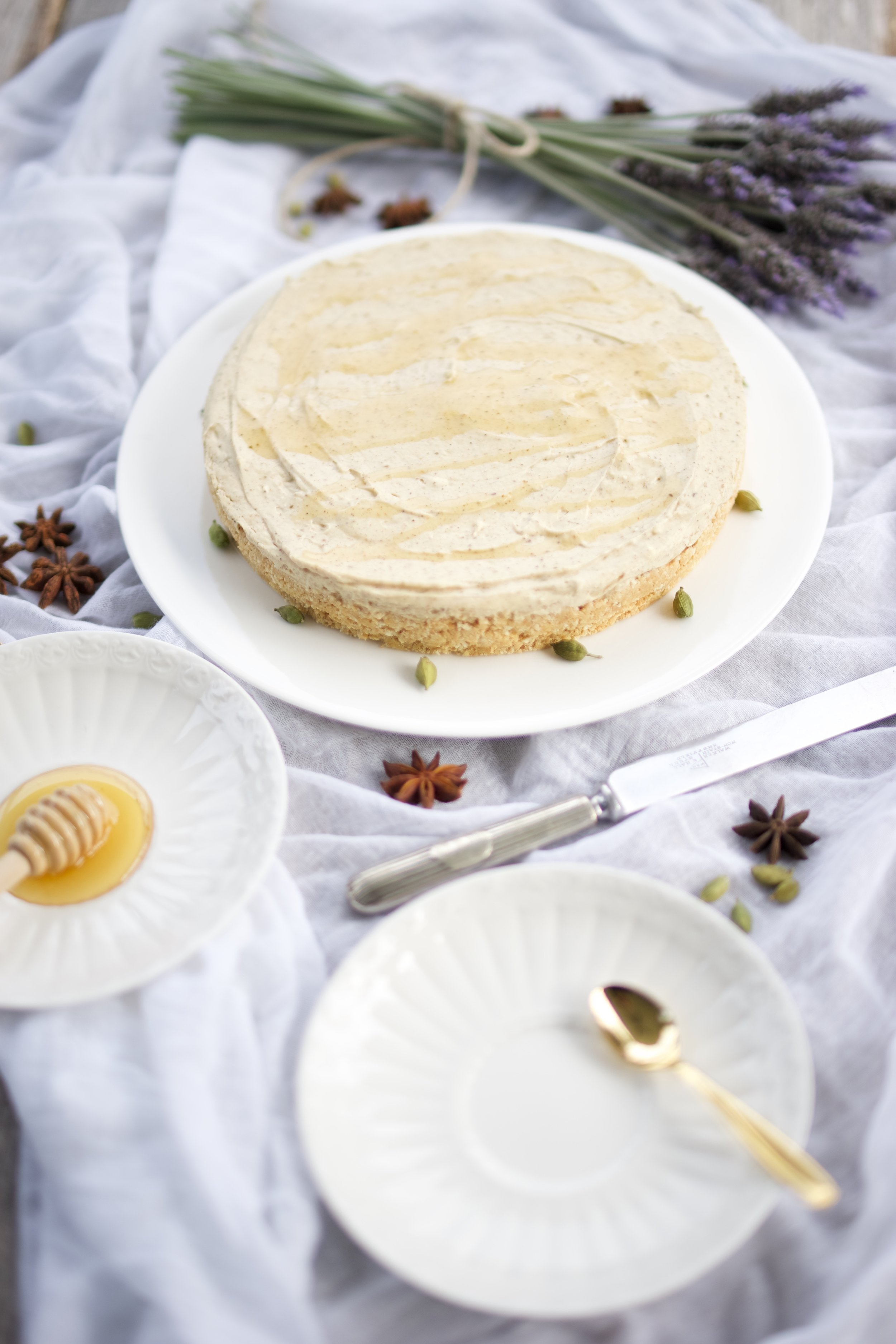 Chai Tea Cheesecake