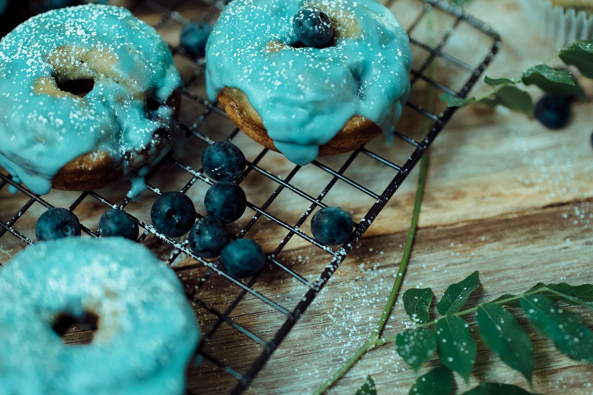 Blueberry Doughnuts