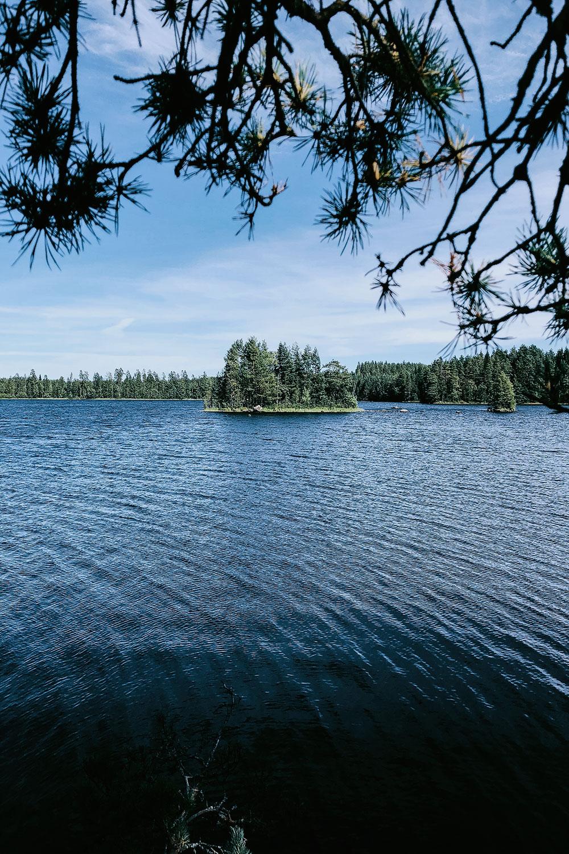 Magical Finnish lake