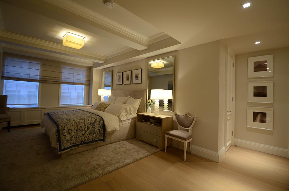 Maisonette master bedroom
