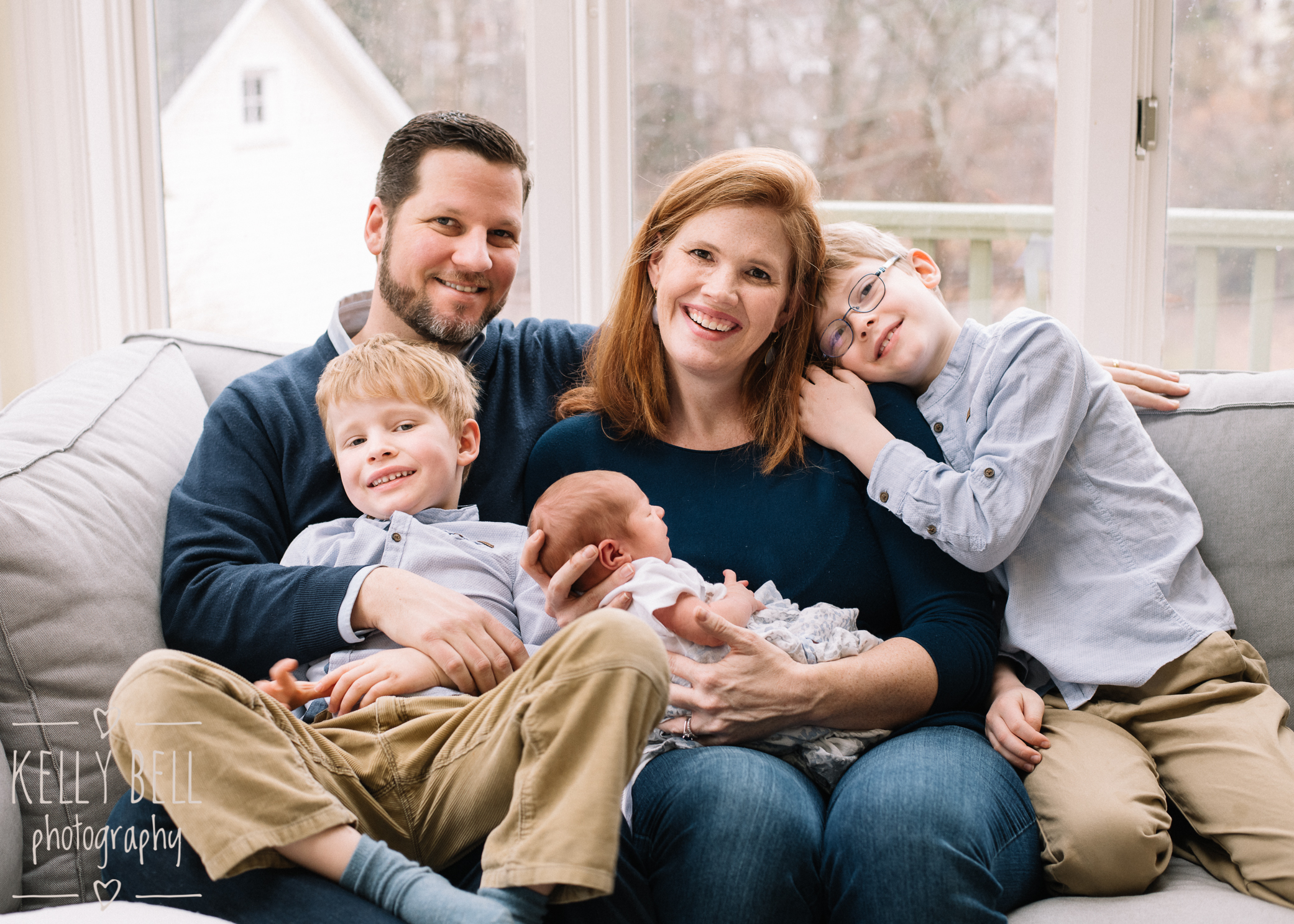 natural newborn family portraits takoma park