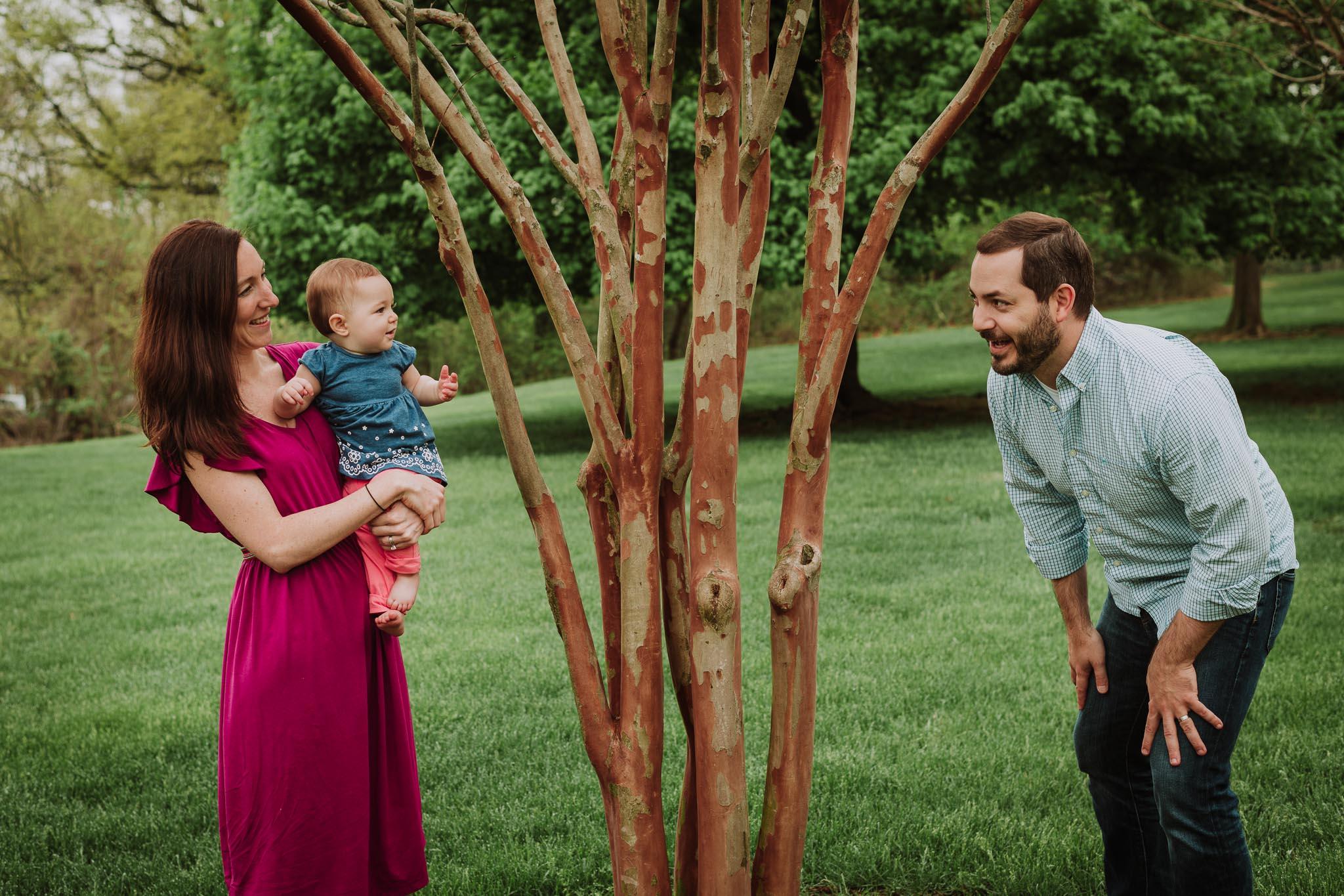 dc outdoor family photoshoot