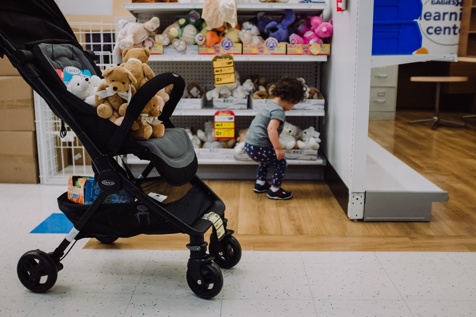 documentary photography child toy store shopping dc