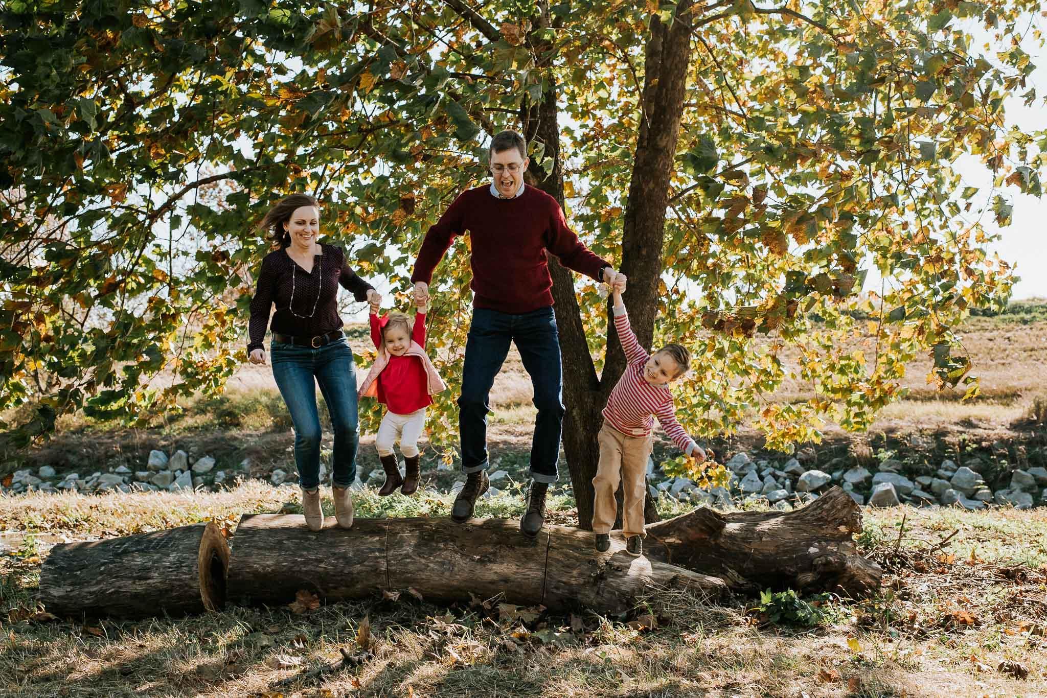 family photography outdoors washington dc