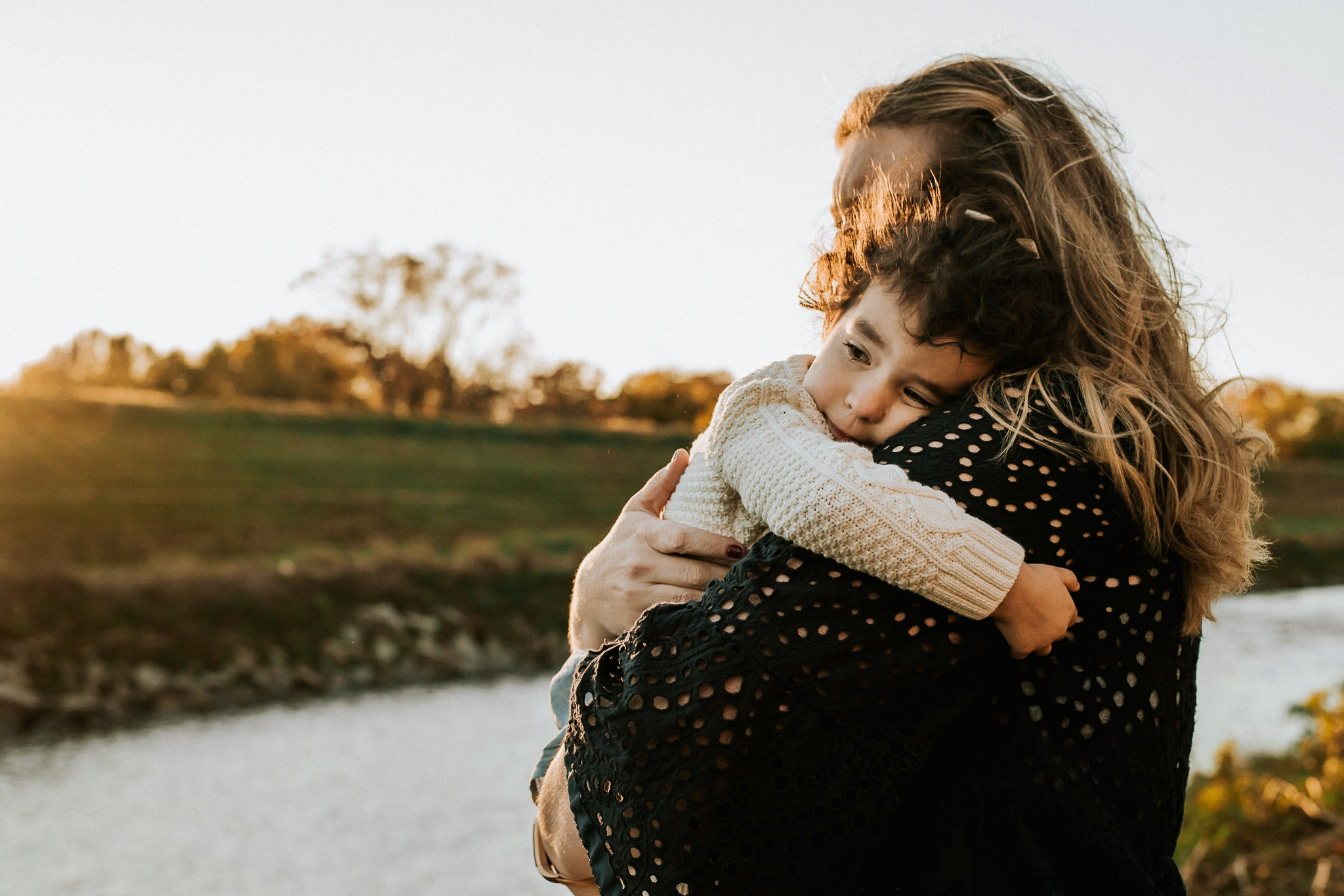 family photo shoot sunset maryland