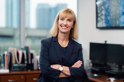 Laura Jo Gunter, President Bow Valley College