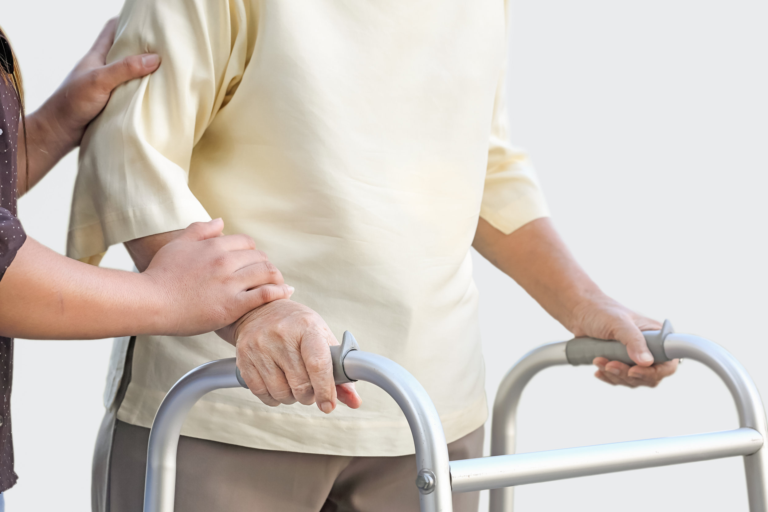 We will help you fall-proof the house and adapt it for aging, as well as identify equipment needs and other solutions to prevent falls and avoid injuries.