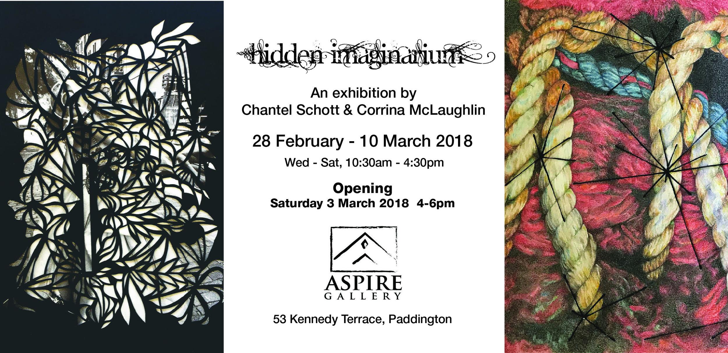 Back side, invitation. Designed by Lindsay Mengel.