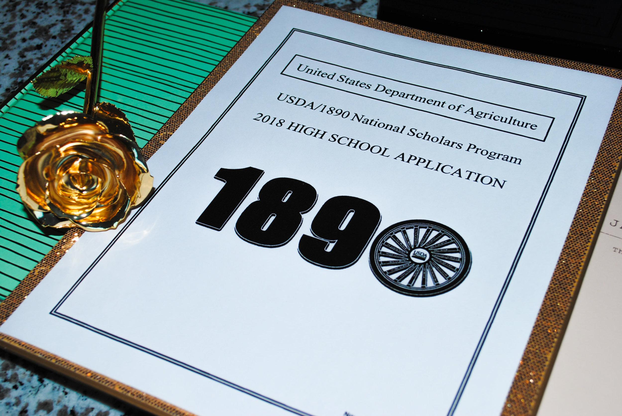 USDA 1890 National Scholarship.JPG