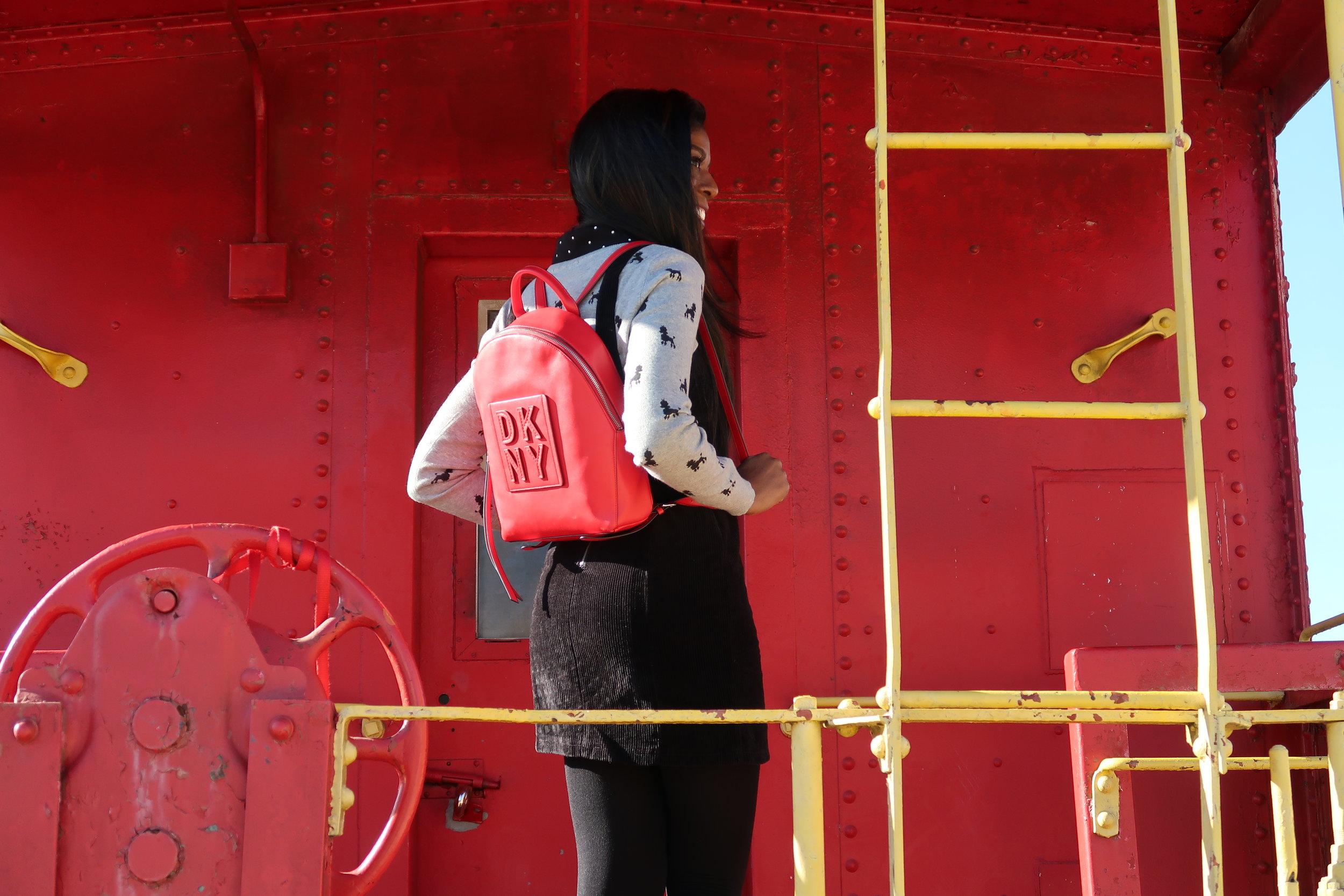 DKNY Tilly Stacked Logo Backpack.JPG