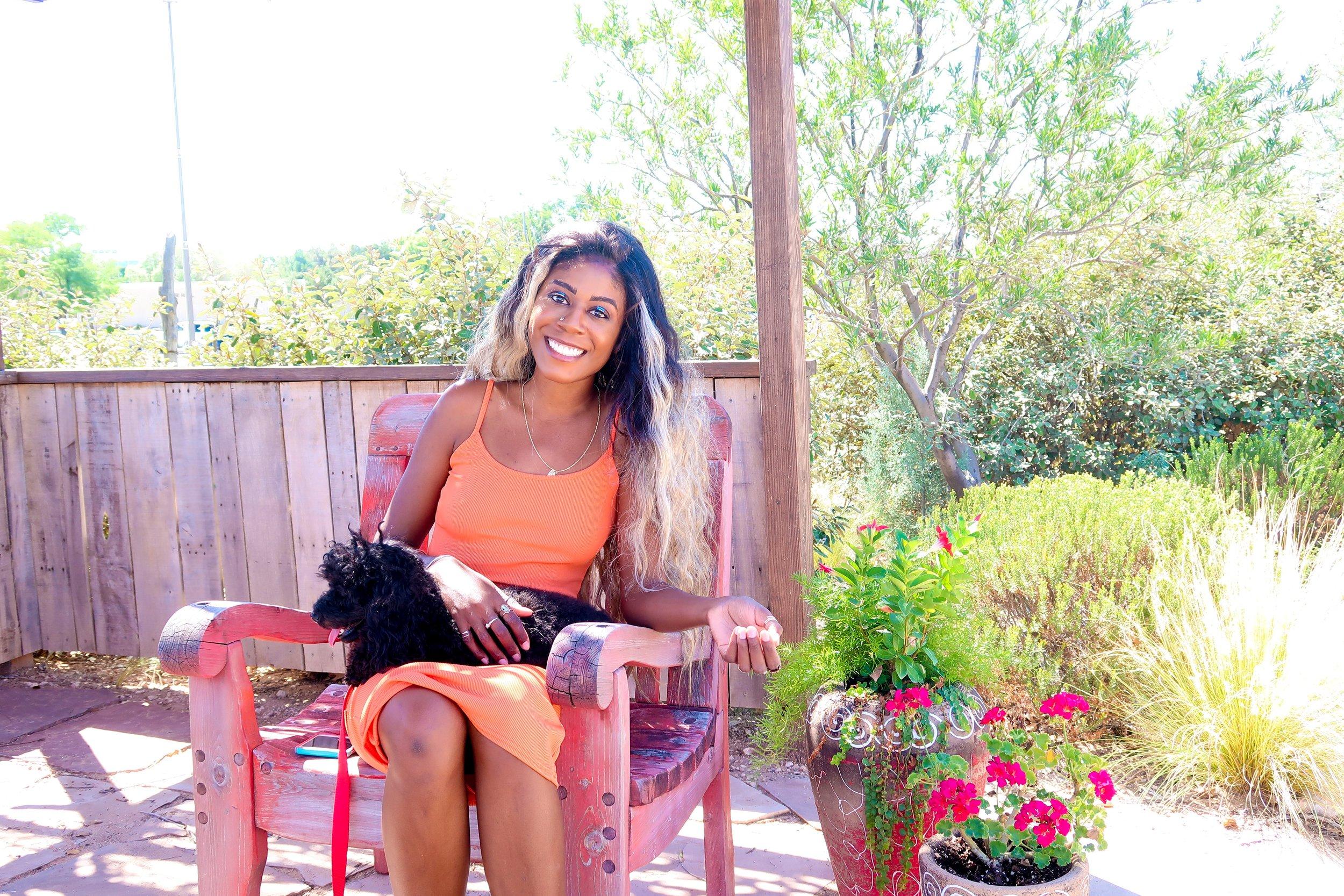femme luxe finery review Orange Cami Strap Maxi Dress - Serenna.JPEG