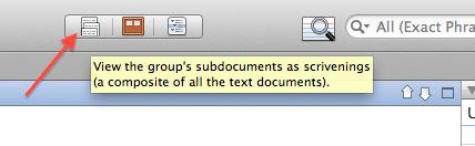 Scrivenings icon.