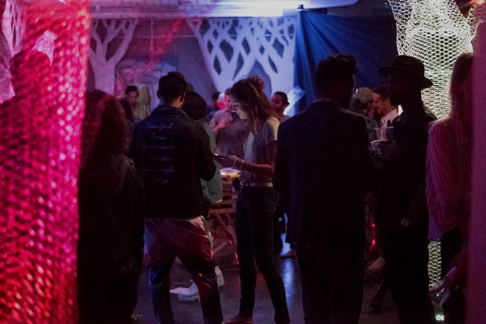 I designed an immersive experience for 200+ people in SF with the Anywhere Collective. -