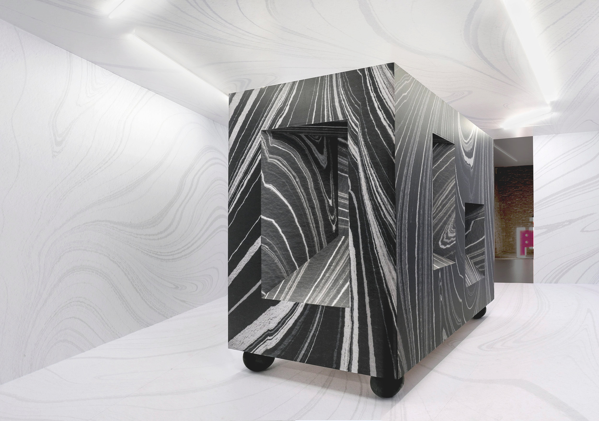 Cenotaph, 2019 Installation within Peter Halley's Heterotopia I, Venice, Italy