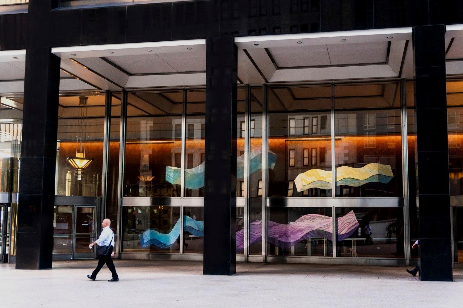 Reclining Colonnade, 2018 One New York Plaza, New York, NY