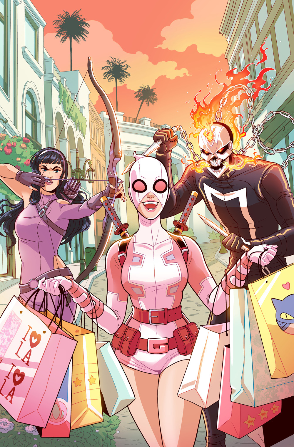 Gwenpool Issue #14 cover- Marvel