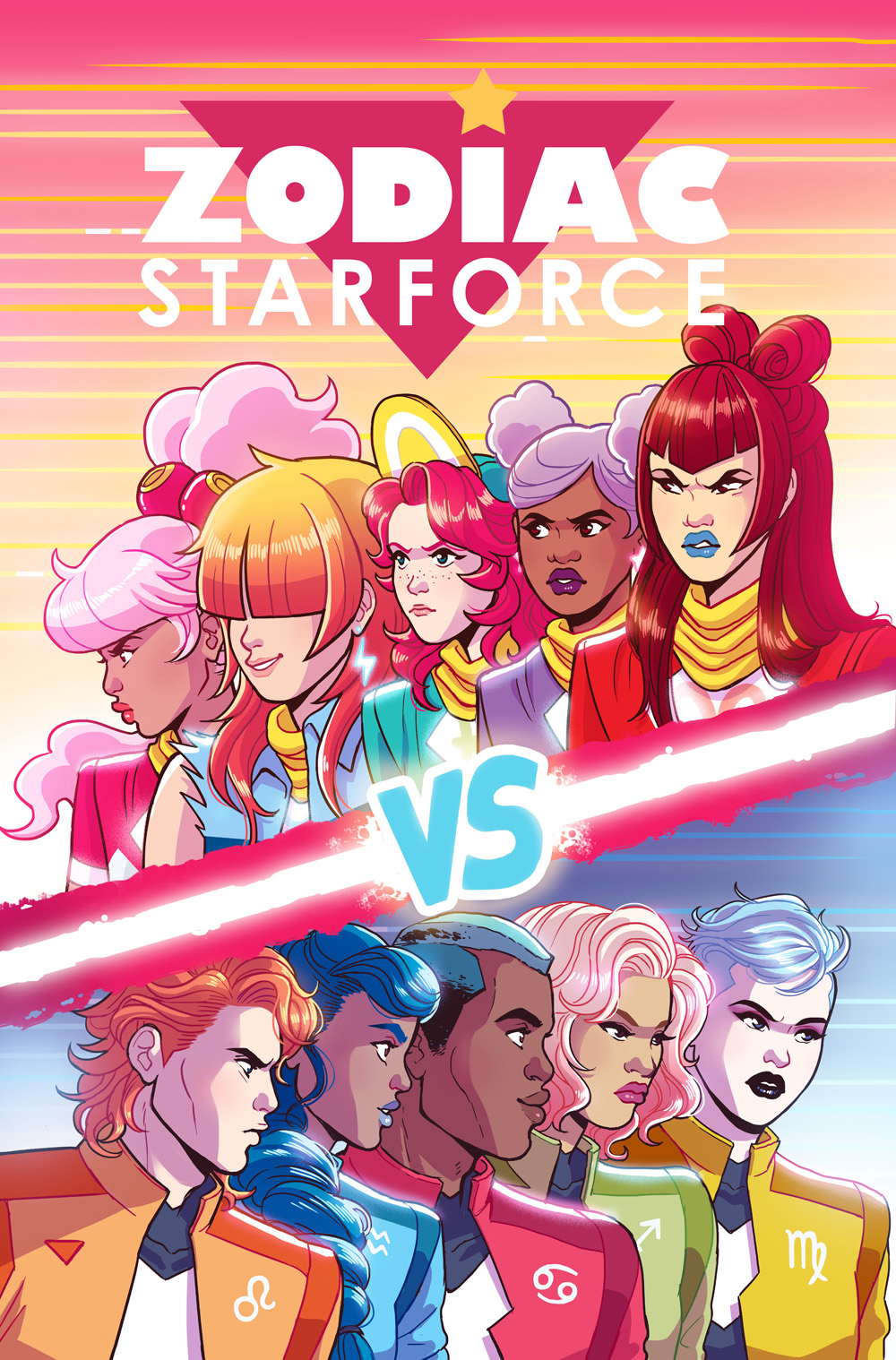 Zodiac Starforce: Cries of the Fire Prince #3 cover- Dark Horse comics