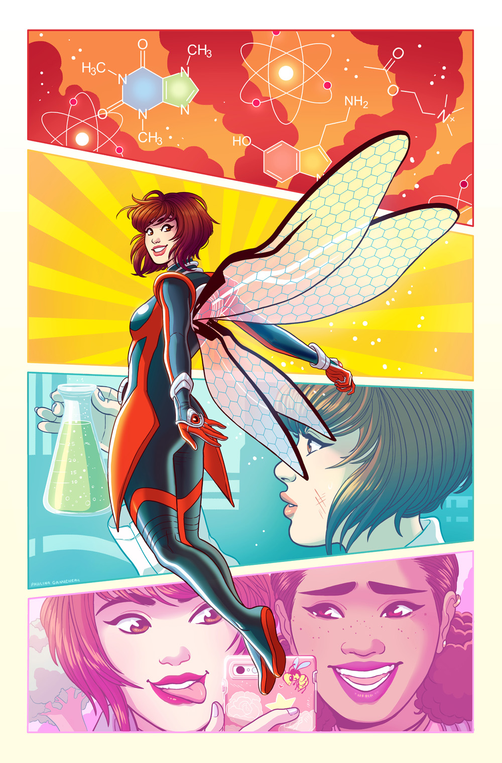 The Unstoppable Wasp variant- Marvel