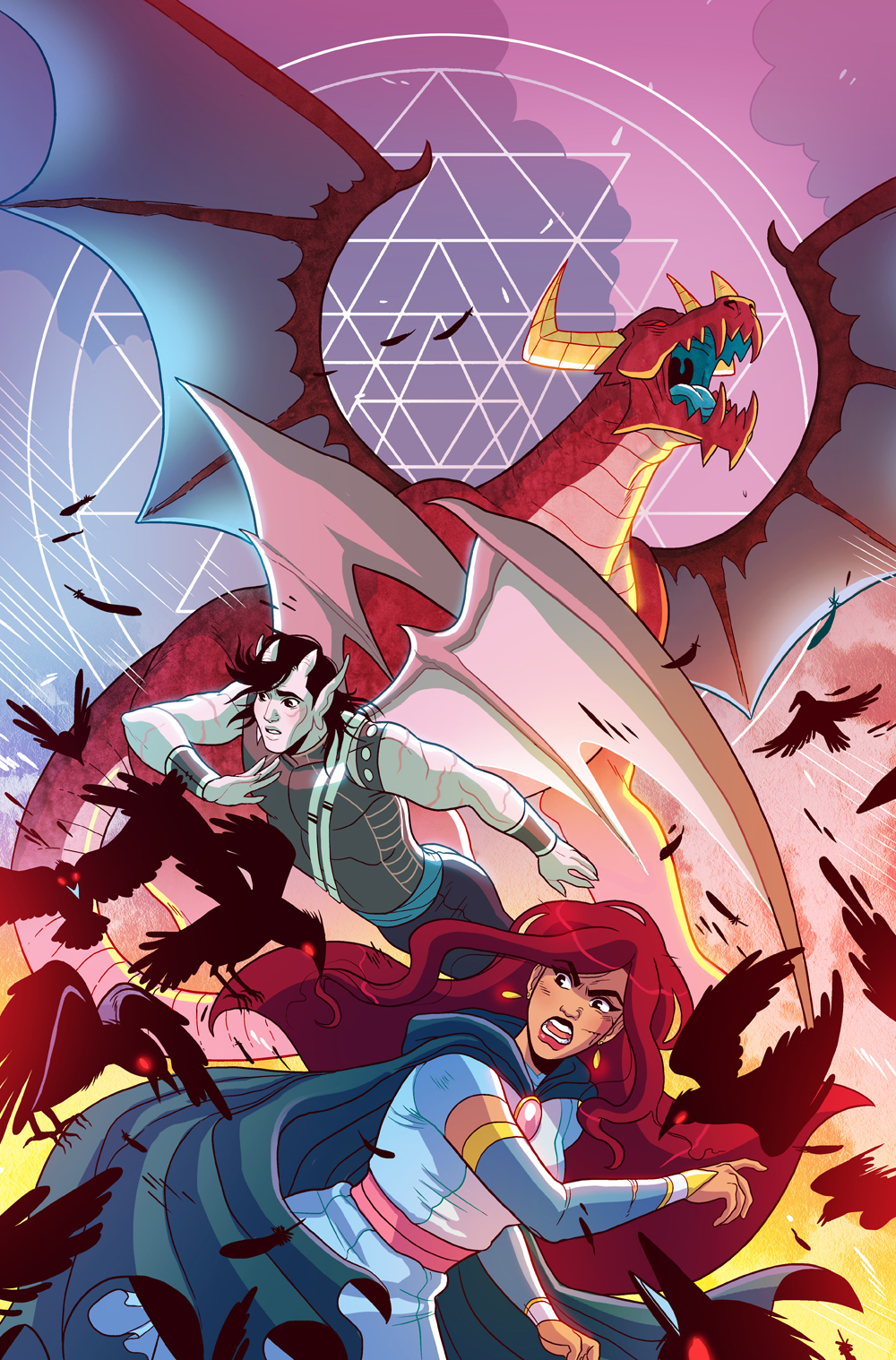 Another Castle issue #4 cover- Oni Press
