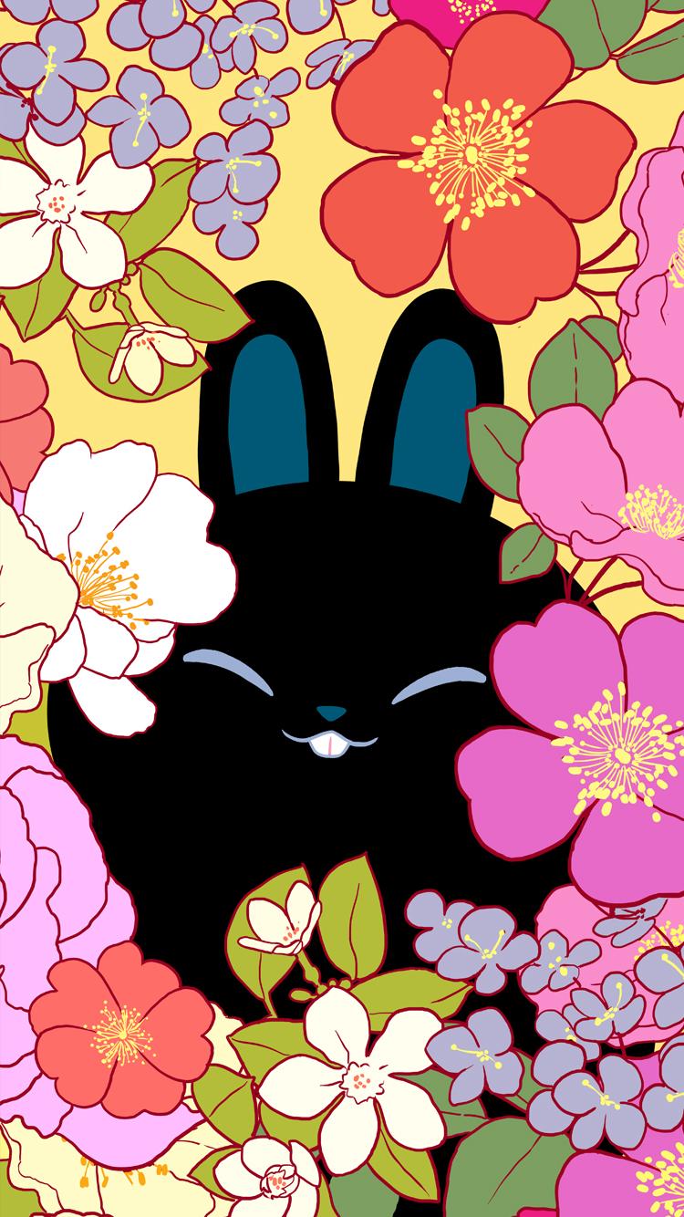 Floral Bun