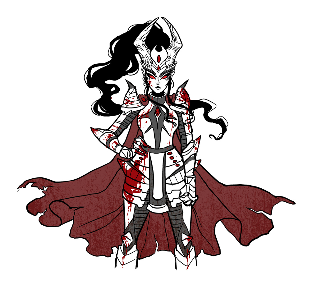 Queen of Hell armor design