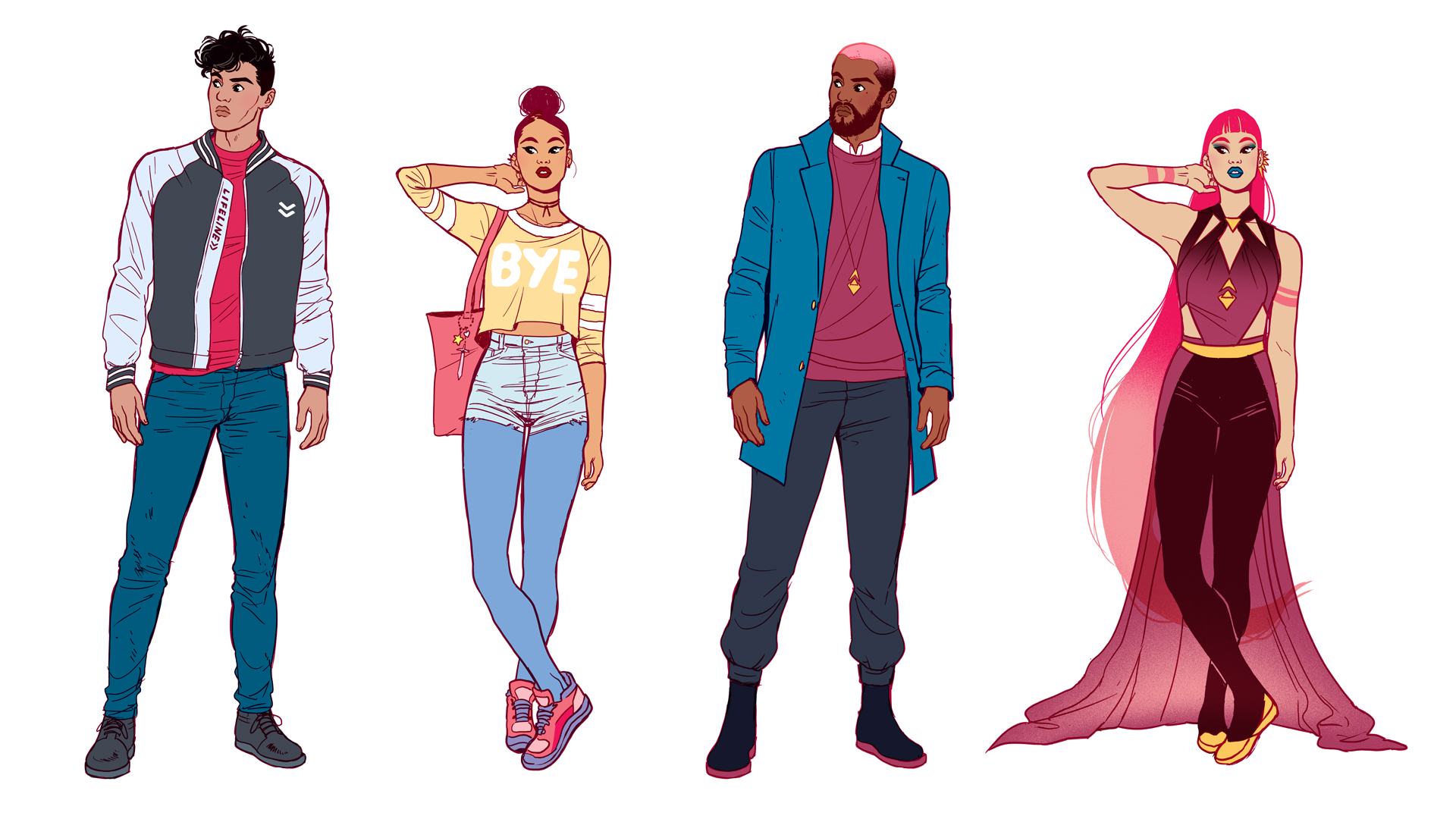 Character design experiment for a workshop I put on for SCAD students.
