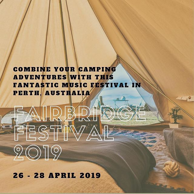 💃🏻FAIRBRIDGE MUSIC FESTIVAL PAMPERED CAMPING WEEKEND⛺️ 26 TO 28 APRIL 2019, PERTH, AUSTRALIA. GATHER YOUR TRIBE AND EXPERIENCE THIS FAMILY-FRIENDLY EVENT. 🏕3 DAYS/2 NIGHTS - A$2,300* FOR A GROUP OF 4. (We accept bookings for a minimum group of 4 and a maximum group of 8)  LIMITED SPACES AVAILABLE. HURRY AND RESERVE YOUR SPOT. 📞CALL US OR MAKE YOUR BOOKING ON OUR FACEBOOK PAGE OR OUR WEBSITE AT www.cyal8tadventuretours.com 🧮 Get the most of your camping experience by combining Fairbridge Music Festival with pampered camping with us. We provide personalised pampered camping, different from other organisers.  Our camping package suits all ages. Our 24-hour concierge service means you don't have to bring anything other than your personal bag. We can even pick and drop-off from Perth CBD or Rockingham area.  HERE ARE THE MORE REASONS WHY YOU SHOULD GO: (1) Quiet campground, outside the music festival grounds; (2) Private shower and toilet for your use only; (3) Chef on site with unlimited food and drinks; (4) Luxury tent and mattress; (5) Complimentary toiletries; (6) Hotel-style linen and towels. 🎫* Price does not include Fairbridge Music Festival tickets. This can be purchased directly on their website at https://fairbridgefestival.com.au/wp/buy/tickets/. Price ranges from $60 - $204 for a 3-day entrance and $35 - $113 for a day ticket. Child below 5 years old is free.  #westernaustralia #studyperth #musicfestival #fairbridgefestival #glamping #camping