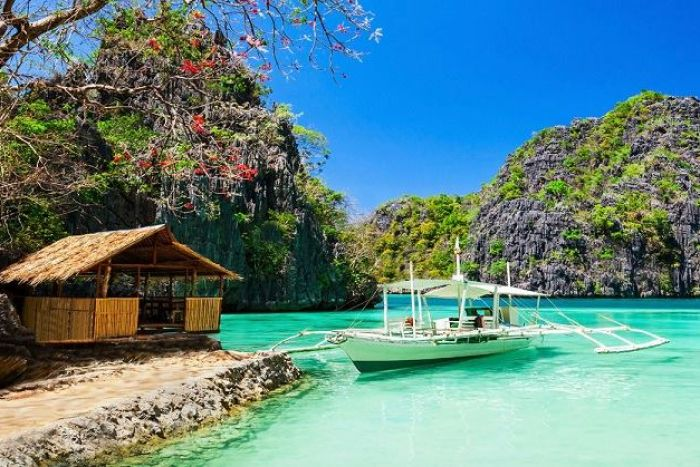 PHOTO:  Palawan in the Philippines is known for its white sands and jungles. (Supplied)