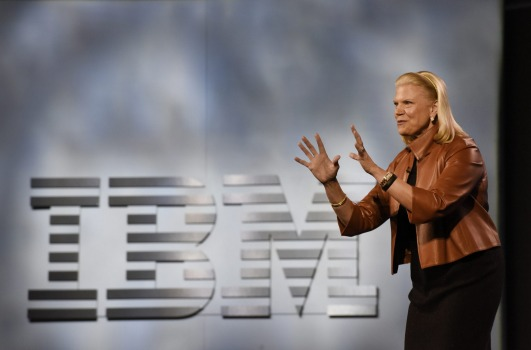 IBM chief executive, president   and   chairman Ginni Rometty says society is entering a new age of exponential learning, driven by data  .Bloomberg
