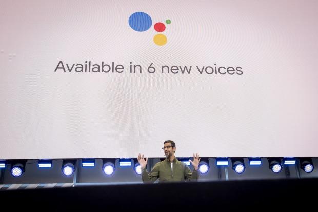 Google CEO Sundar Pichai unveiled a voice assistant that sounds exactly like a human voice.Michael Short