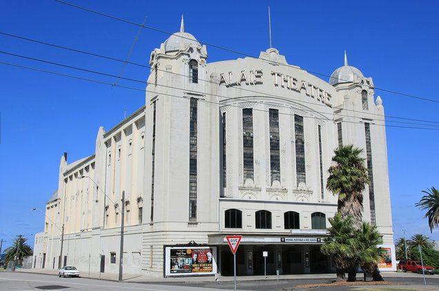 Palais Theatre in St Kilda, South Melbourne