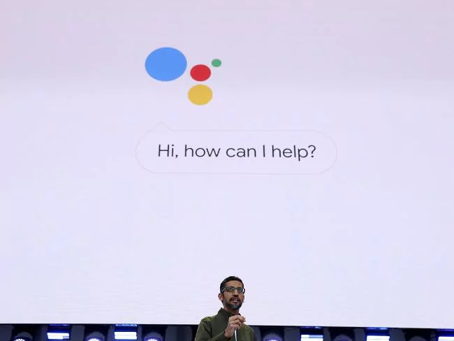 Google CEO Sundar Pichai. Google is under investigation for using people's phone data without permission. Picture: Justin Sullivan/Getty Images/AFP Source:AFP