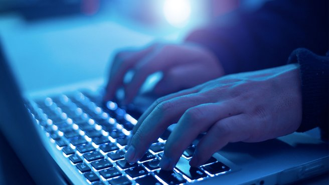 The data system was completely crippled by the malware. Image: Getty Images.