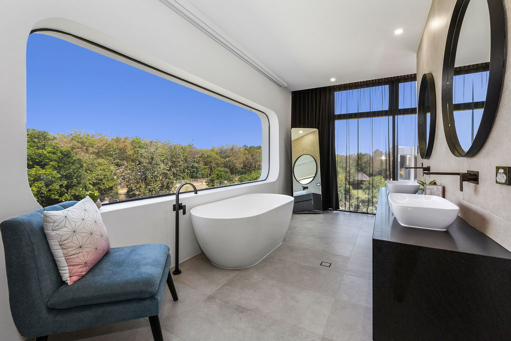 The home is expected to fetch 700-800 bitcoins, or $3.5 million. Photo: LJ Hooker Kingscliff